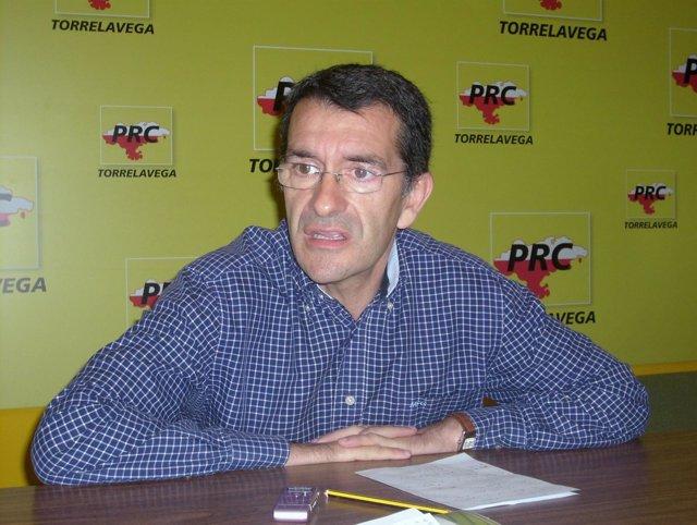 El Concejal Del PRC En Torrelavega Pedro Pérez Noriega