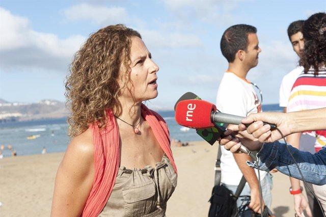 La Concejal De Ciudad Del Mar, Mimi González