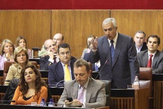 Javier Arenas Interviene Ante El Pleno