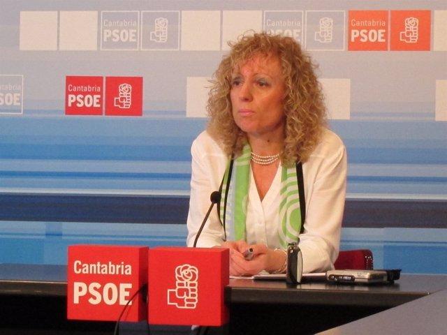Rosa Eva Díaz Tezanos, Vicesecretaria Del PSC-PSOE