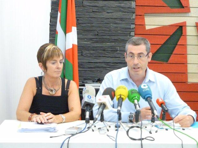 Arantza Tapia Y Markel Olano