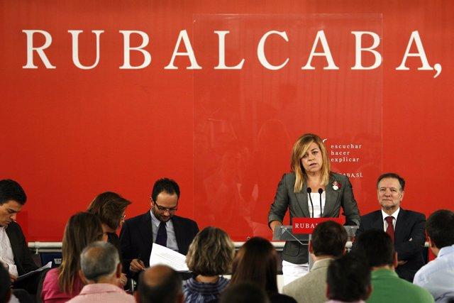 Elena Valenciano Presenta La Precampaña Del PSOE