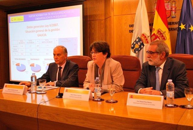 Documentación Sobre La Rueda De Prensa En A Coruña De La Secretaria General Del