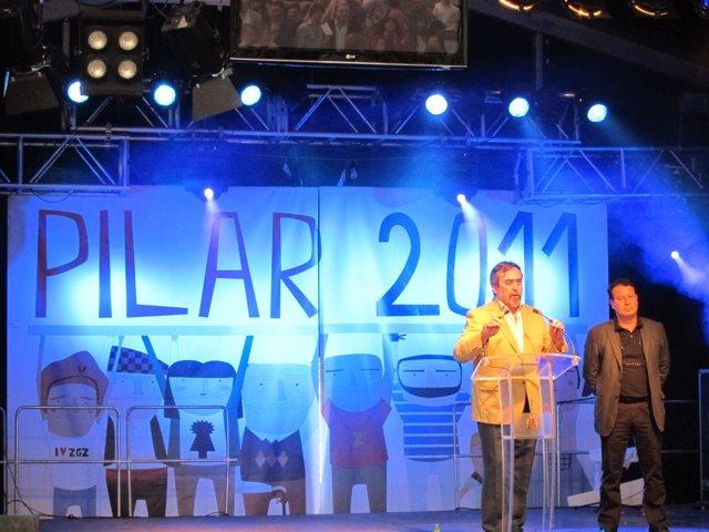 Belloch Presenta Las Fiestas Del Pilar