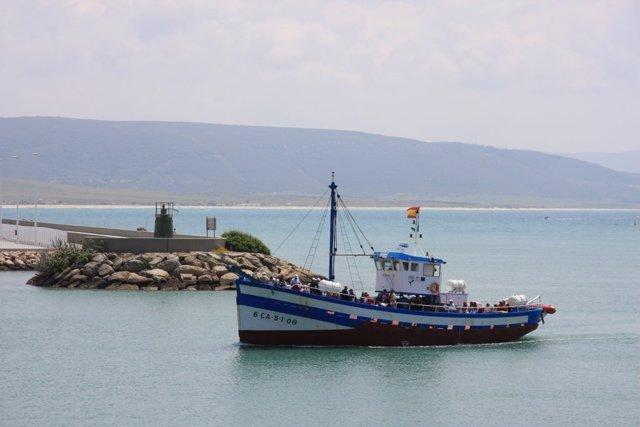 Un Barco Pesquero