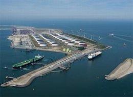 La Planta Gate Terminal De Regasificación De Rotterdam De E.ON