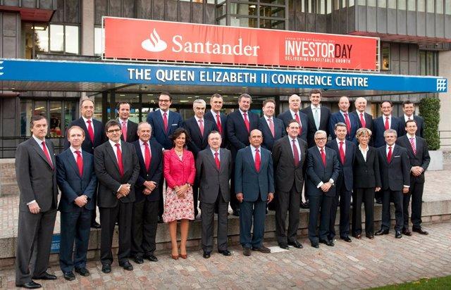 Botín En El Investor Day En Londres