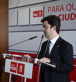 Luis Felipe, Portavoz Del PSOE En El Ayuntamiento De Huesca