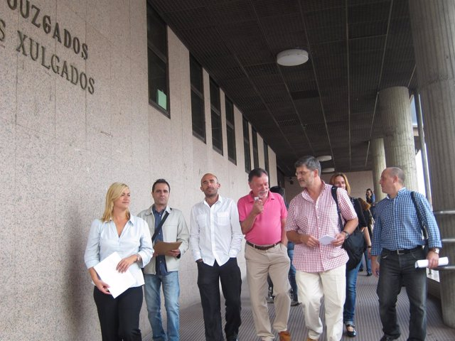 Vigo Foto Junta Personal Justicia