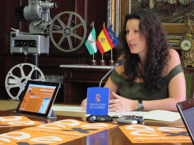 La Diputada Provincial De Cultura En Almería, María Vázquez (PP)