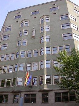 Casal Sant Jordi, edificio de la conselleria de Justicia