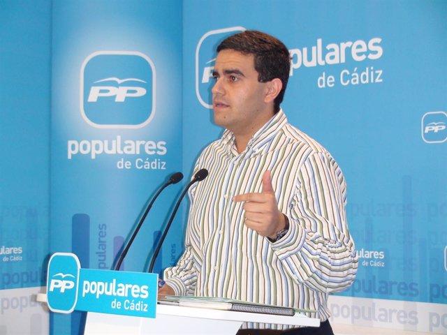 El alcalde de Vejer de la Frontera (Cádiz), José Ortiz