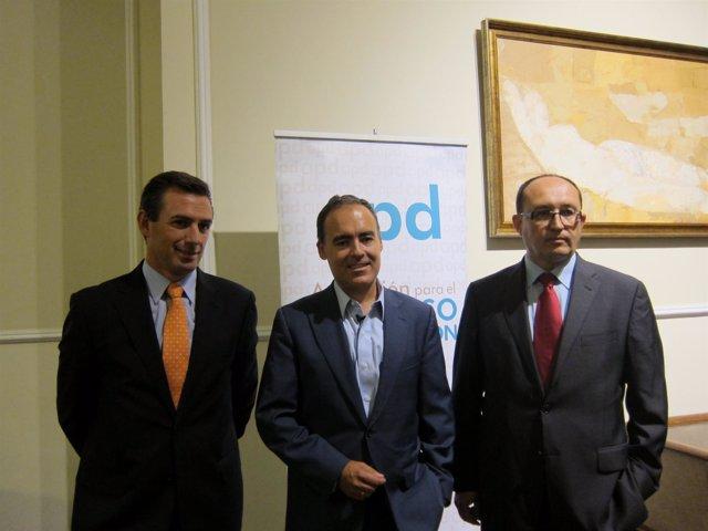 El Director General De Google España, Javier Rodríguez Zapatero