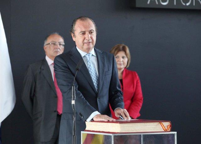 Toma De Posesión De Ripoll Como Presidente Del Puerto De Alicante