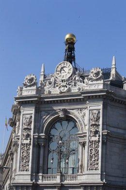 Fachada Del Banco De España