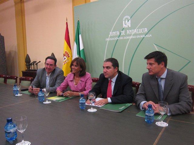 Reunión Entre Junta Y Diputación Sobre Planes De Emergencia