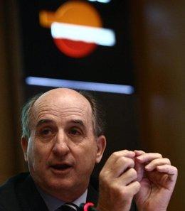 El presidente de la compañía, Antonio Brufau