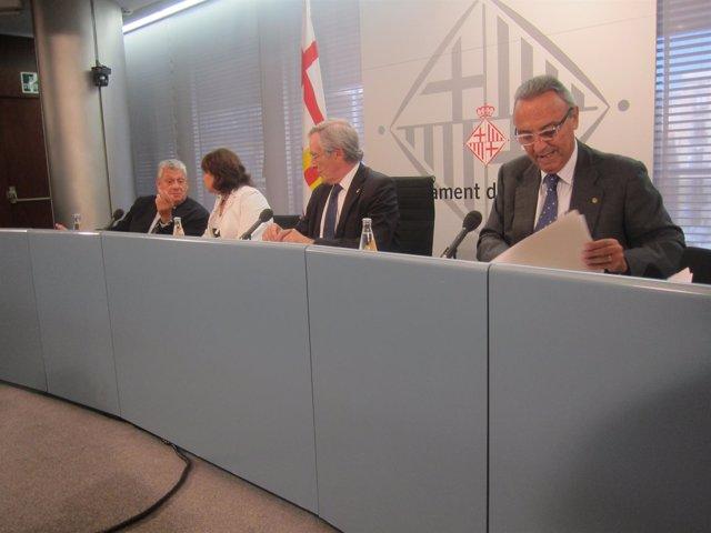 Jordi Clos, Sònia Recasens, Xavier Trias Y Joan Gaspart