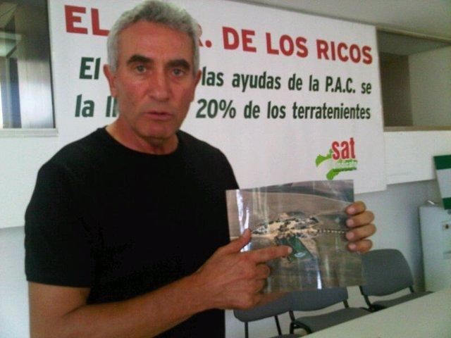 El Secretario General Del SAT, Diego Cañamero