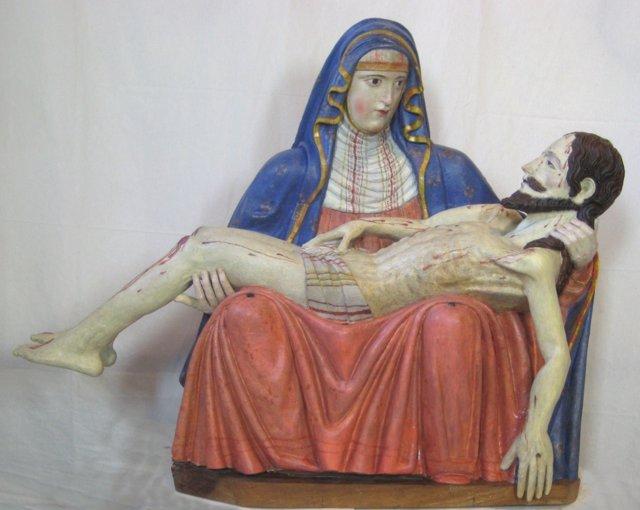 Virgen De Las Angustias Restaurada Por La Fundación Sta. Mª De Albarracín