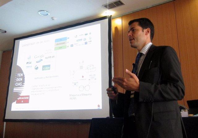 Dr. Regional De Andalucía, Extremadura Y Canarias De Vodafone, Javier Álvarez