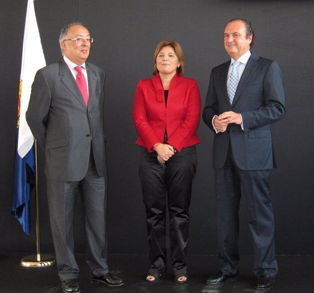 Fernando González, Junto A Isabel Bonig Y Joaquín Ripoll