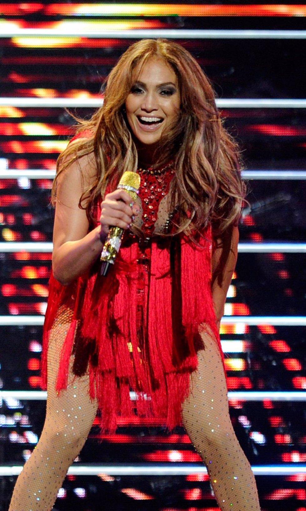 Jennifer Lopez  Actuando