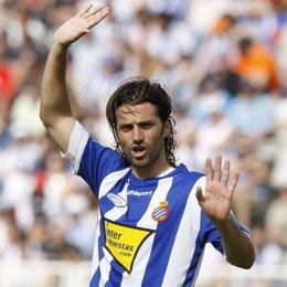 Daniel Jarque, jugador del Espanyol, recientemente fallecido