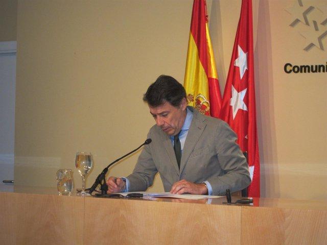Ignacio González En Rueda De Prensa