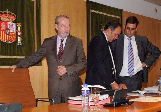 Rodríguez Villalobos Presidiendo El Pleno.