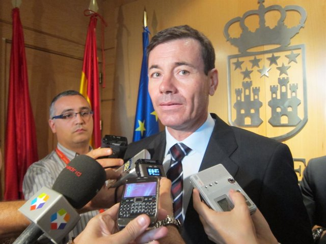 Tomás Gómez En La Asamblea De Madrid