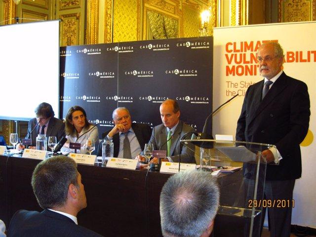 Teresa Ribera, Enrique Iglesias, José María Figueres Y Michael Zammit