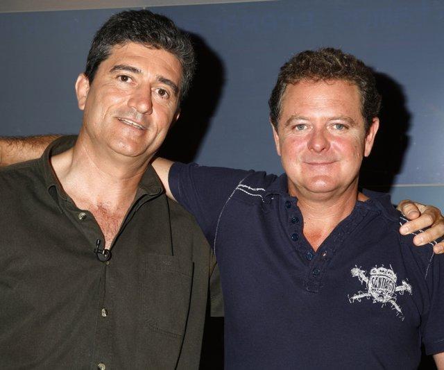 Juan Luis Cano Y Guillermo Fesser El Dúo Gomaespuma