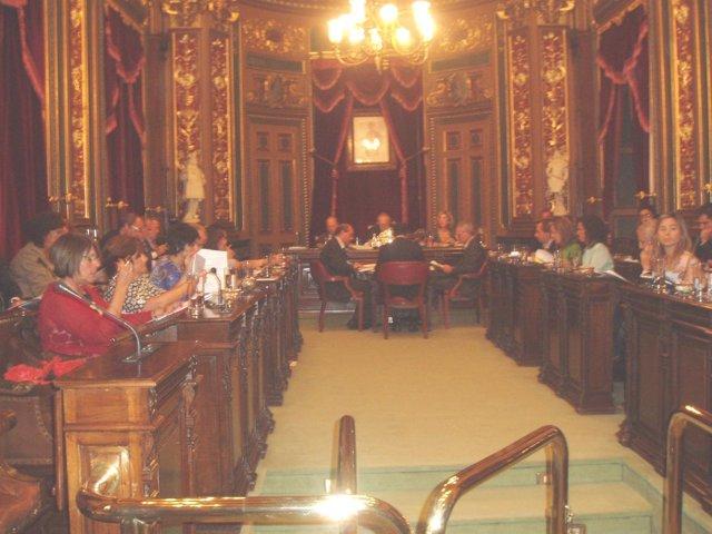 Sesión Plenaria Del Ayuntamiento De Bilbao