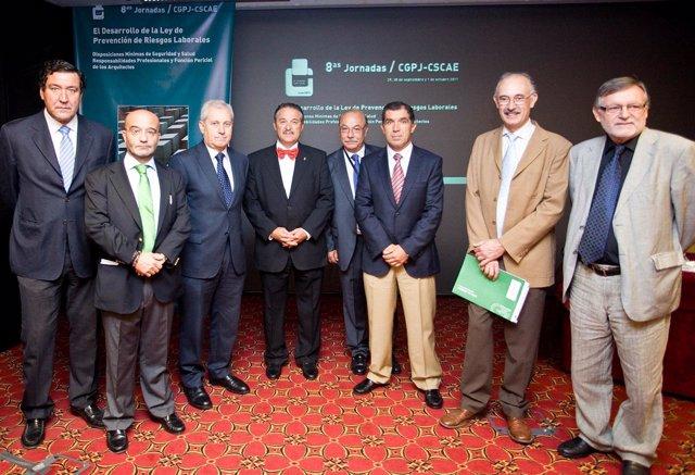 Reunión De Arquitectos Y Prevención De Riesgos Laborales