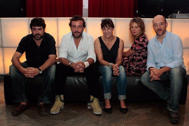 Presentación En Málaga De La Obra De  Blanca Portillo