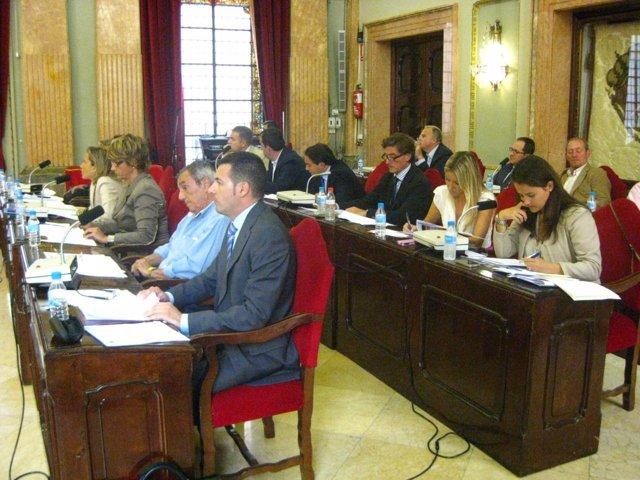 Imagen Del Pleno Del Ayuntamiento De Murcia