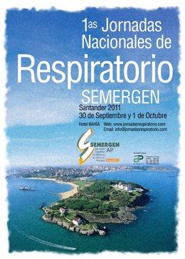 Cartel De Las Primeras Jornadas Nacionales De Respiratorio