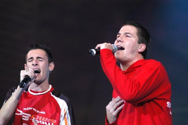 El dúo Andy & Lucas
