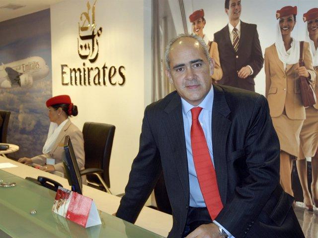 Director General De Emirates Para España Y Portugal, Fernando Suárez De Góngora
