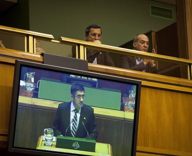 José Luis Bilbao Y Martin Garitano Siguen La Intervención De López