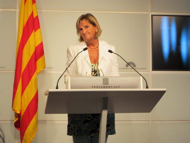 Núria De Gispert En El Parlament