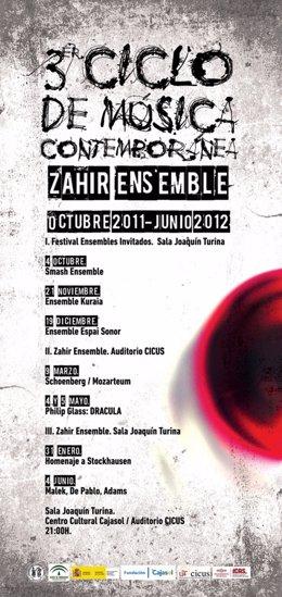 III Ciclo De Música Contemporánea Zahir Ensemble