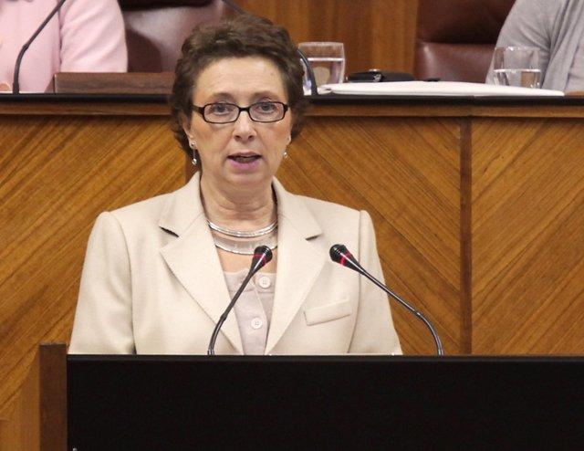 Carmen Martínez Aguayo, Consejera De Hacienda Y Administración Pública