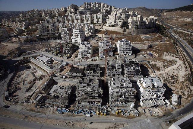 Asentamientos judíos en Jerusalen este