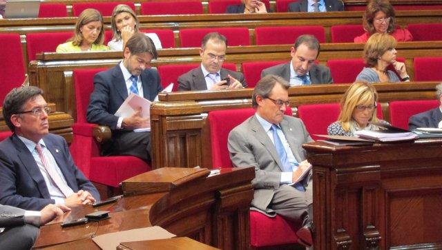 Artur Mas En El Parlament