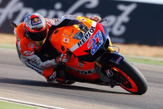 Casey Stoner GP Aragón