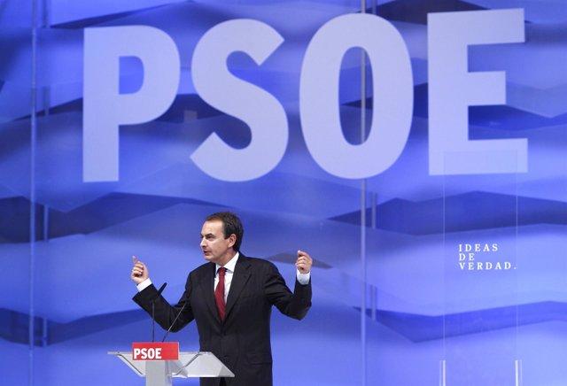 Zapatero En La Conferencia Política Del PSOE
