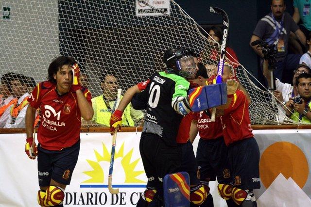 Selección Española De Hockey Patines En El Mundial