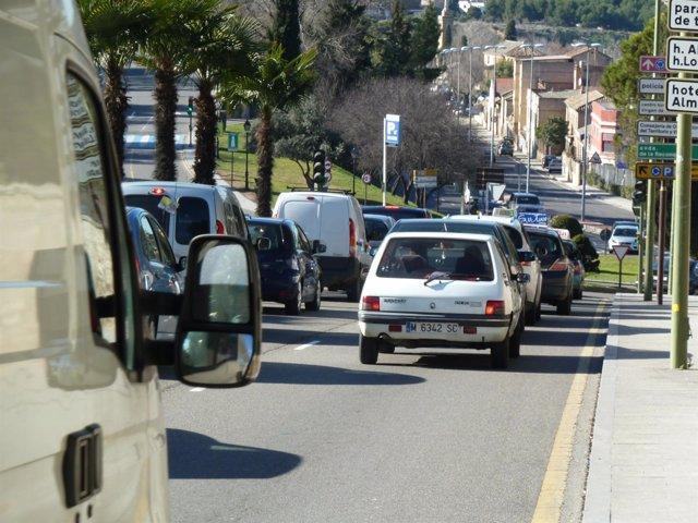 Coches, trafico urbano